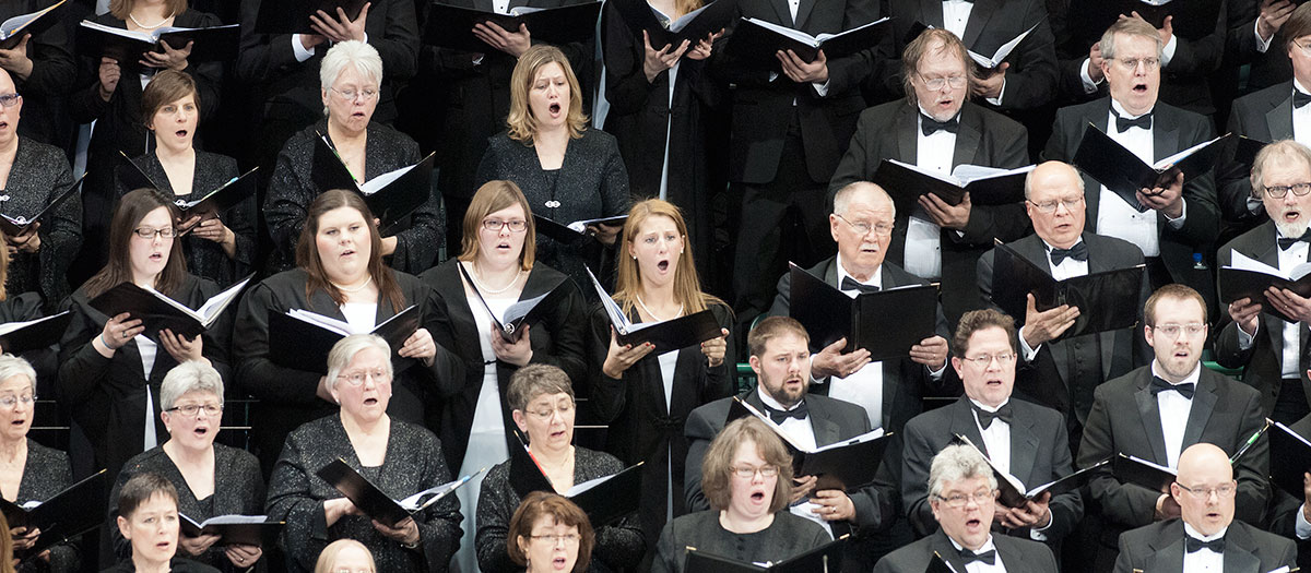 Bemidji Chorale in the Sanford Center