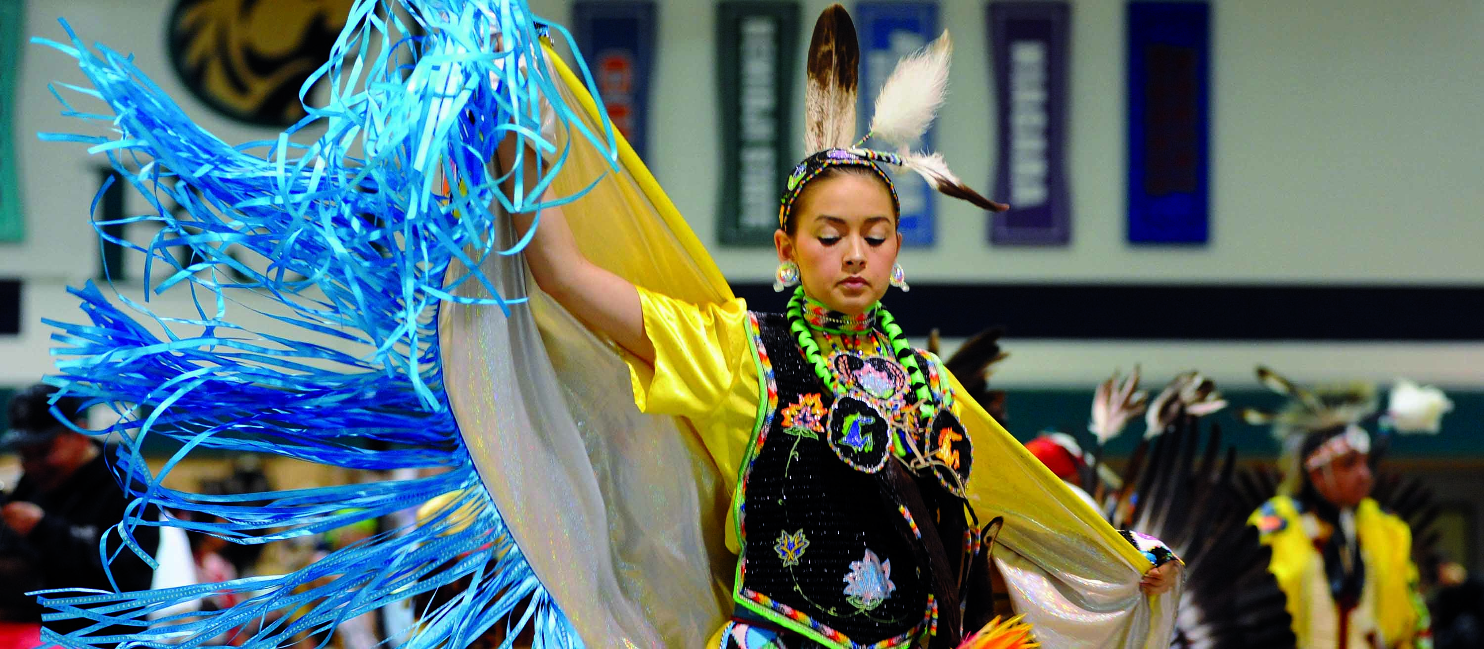 Annual pow wow at Bemidji State University